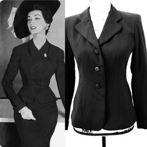 Vintage Petite Sophisticate Blazer Suit Jacket 90s